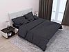 Комплект постельного белья СТРАЙП-САТИН черный