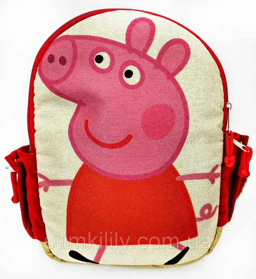 Детский рюкзак свинка Пепа