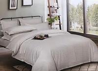 Комплект постельного белья СТРАЙП-САТИН светло-серый