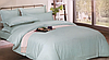 Комплект постельного белья СТРАЙП-САТИН голубой