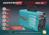 Инверторный сварочный аппарат Grand ММА-320 (дисплей)