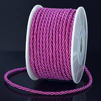 Шнур Плетеный Лавсан, Цвет: Розовый, Размер: Диаметр 3мм, около 18м/связка, (УТ0011728)