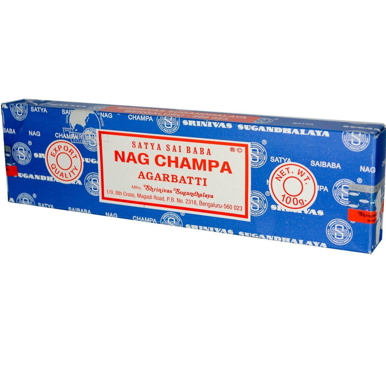 Благовония Наг Чампа, (Nag Champa), Sai Baba, 100 г