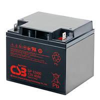 Аккумуляторная батарея CSB GP12400, 12V 40Ah (GP12400)