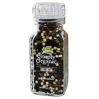 Simply Organic, Мельница, Смесь перцев, 3 унции (85 г)