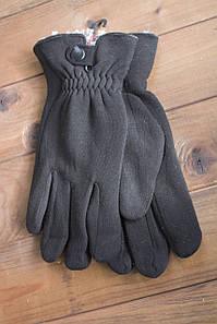 Мужские стрейчевые перчатки кролик Средние 8192s2