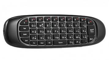 Универсальный пульт с русской клавиатурой Air Mouse C120 Черный (mt-24)