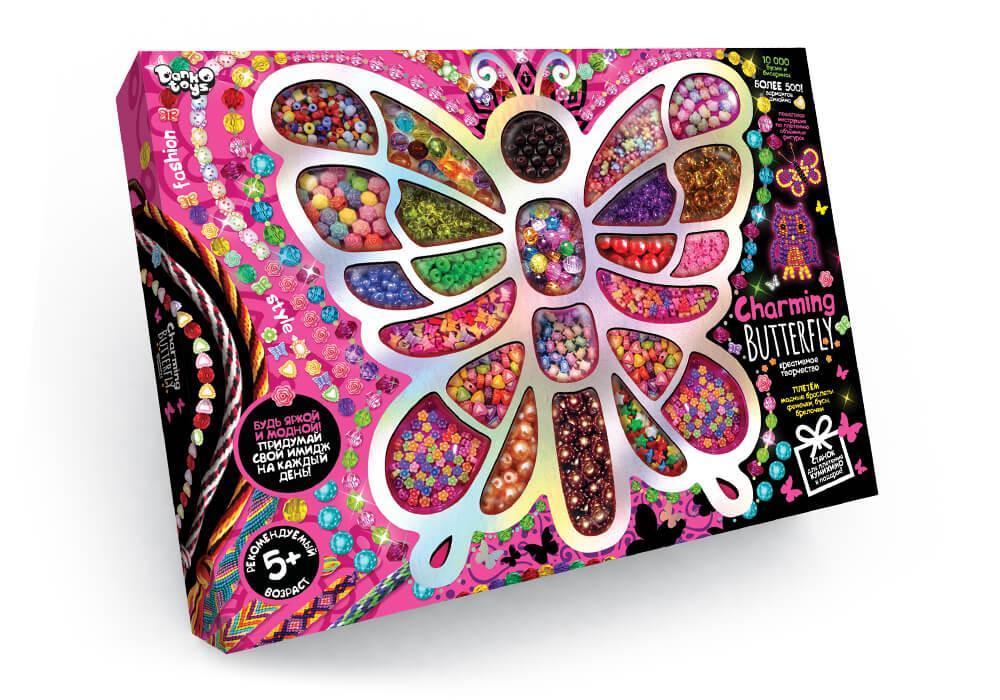 """Набір креативної творчості """"Charming Butterfly"""" бисер"""