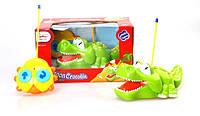 Музыкальная развивающая игрушка крокодил р/у 6619 (1479997) Музыкальная развивающая игрушка ,в кор 26,5*16,5*15,5см