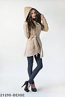 Трендові кашемірове пальто з великим капюшоном Orion