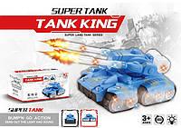 Музыкальная развивающая игрушка танк 2631-2 звук, свет, в коробке