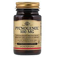 Пикногенол, Pycnogenol, Solgar, 100 мг, 30 капсул.