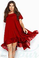 Свободное шелковое платье Gepur 22424