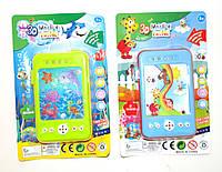 Мобильный телефон обучающий игрушка 8103 батар , 3 вида, на планшетке 18*11*9см