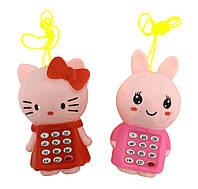 Мобильный телефон обучающий игрушка 7791 батар ,4 вида, изделие 10*6*4см в пакете 12*15см