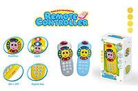 Мобильный телефон обучающий игрушка AE00507 (1459641) 2 вида,батар ,свет,звук, в коробке 13*6*20см
