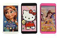 Мобильный телефон обучающий игрушка MS770-1/2/5/6/8 (1829452-6) Дисней, 5 видов,батар ,свет,звук, в пакете 8*2*16см