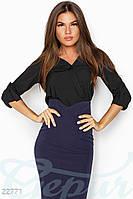 Стильная женская рубашка Gepur 22771