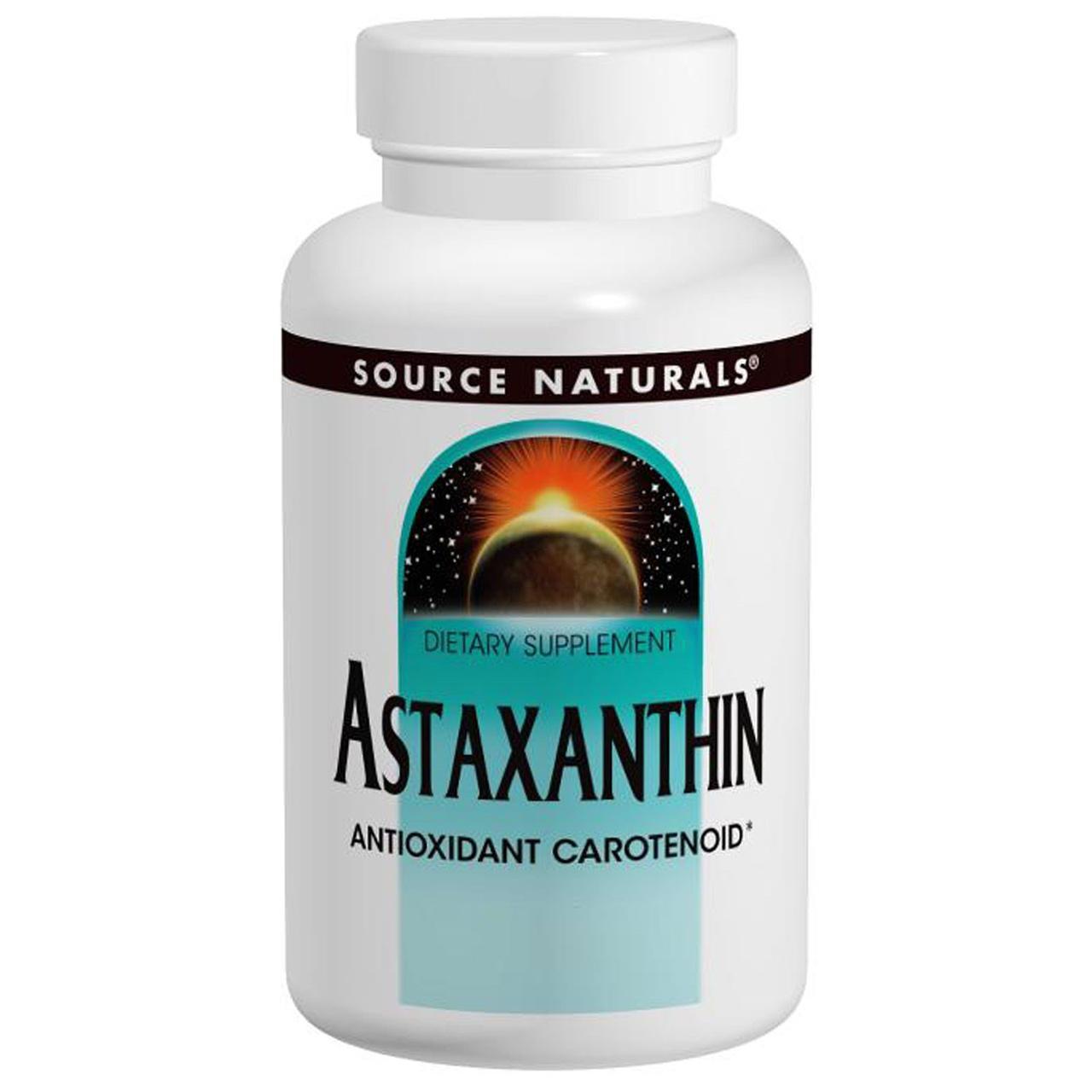 Астаксантин, Astaxanthin, Source Naturals, 2 мг, 120 капсул