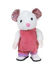 """Интерактивная игрушка """"Мышка белая"""", ходит и поёт"""