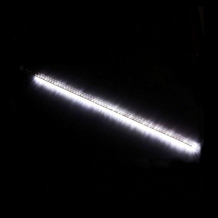 Гирлянда Метеоритный дождь «Тающие Сосульки» LED, 100 см Белая