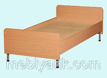 Ліжко 1-спальне на металевому каркасі