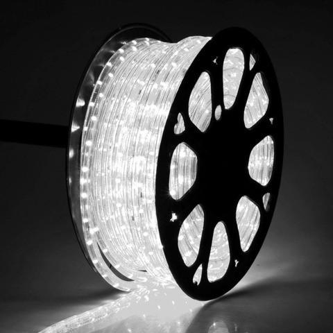 Светодиодный дюралайт 36 led на 1м - бухта 100 м цвет белый холодный, фото 1