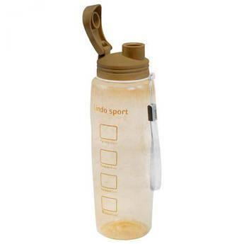 Спортивная бутылка для воды, 500 мл (коричневая) 8120