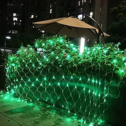 Гирлянда Сетка светодиодная — 240-LED, 2х2 м цвет зеленый, фото 1