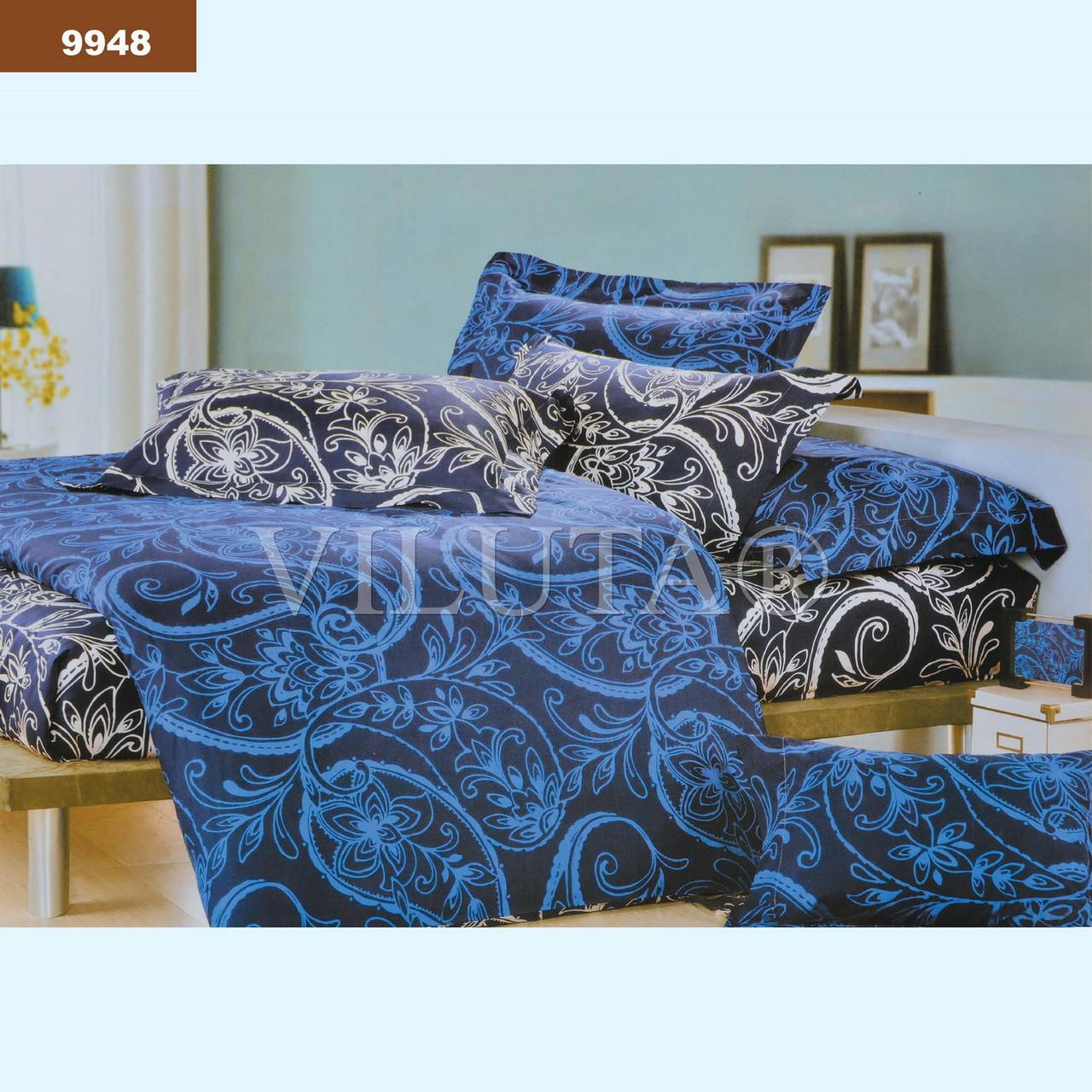 9948 Полуторное постельное белье ранфорс Viluta