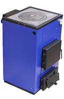 Твердотопливный котел Макситерм 12 кВт с плитой. Серия Кантри