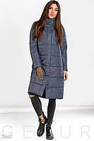 Теплое зимнее пальто Gepur 23667