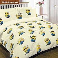 9861 беж подростковое постельное белье ранфорс Viluta
