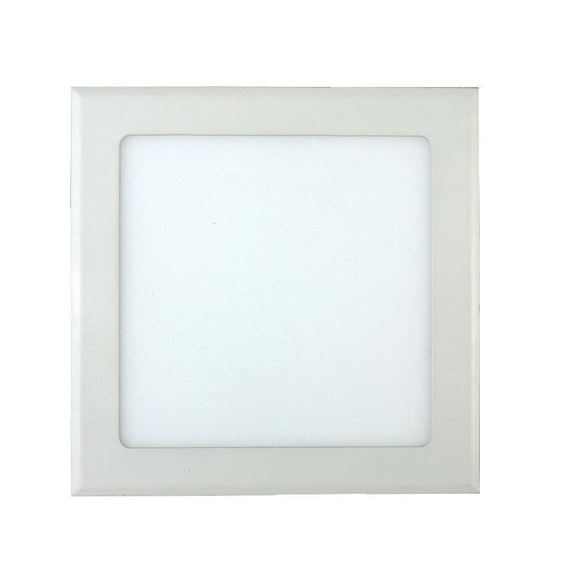 Светодиодный светильник Downlight 18Вт теплый белый квадрат (3200К)