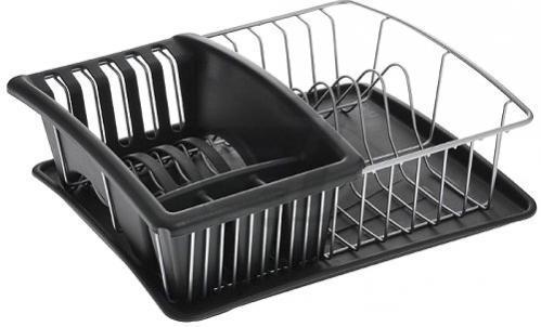Сушилка для посуды Aquatex plus 35x30x12 см 325026 Metaltex