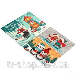 Полотенце-открытка С Новым годом!