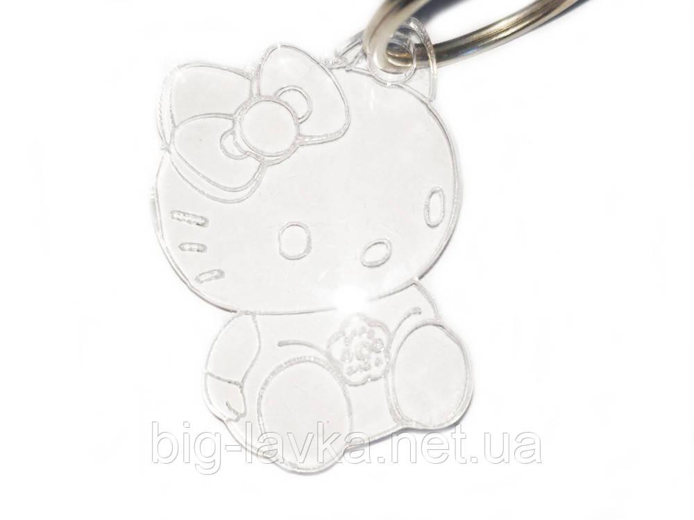 Брелок Hello Kitty из акрила 4 см
