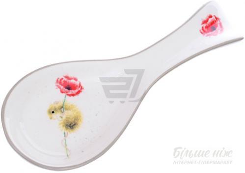 Подставка под ложку Мышонок с цветком 25 см 358-920 Lefard