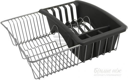 Сушилка для посуды Aquatex 35x30x11 см 325025 Metaltex