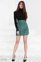 Трендовая пушистая юбка Gepur 24938