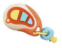 Музыкальная   развивающая  игрушка 8010-9A (T524-D6181) брелок-ключи, свет,звук, мелодии, хедер,упак 15*5,5*