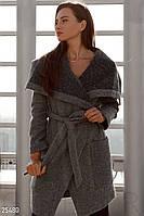 Мягкое шерстяное пальто Gepur 25480