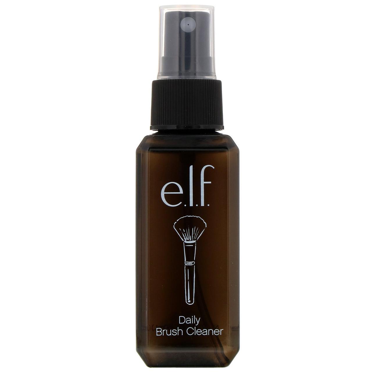E.L.F. Cosmetics, Средство для ежедневной чистки кистей, прозрачное, 2,02 жидкой унции (60 мл)