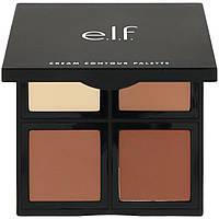 E.L.F. Cosmetics, Палетка контурных кремов, 4 оттенка, 0,43 унции (12,4 г)