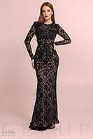Гипюровое платье-годе Gepur 25053
