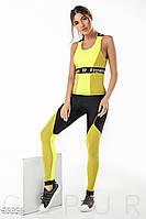 Комбинированный фитнес-костюм Gepur 25956