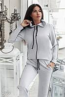 Асимметричный спортивный костюм Gepur 25966