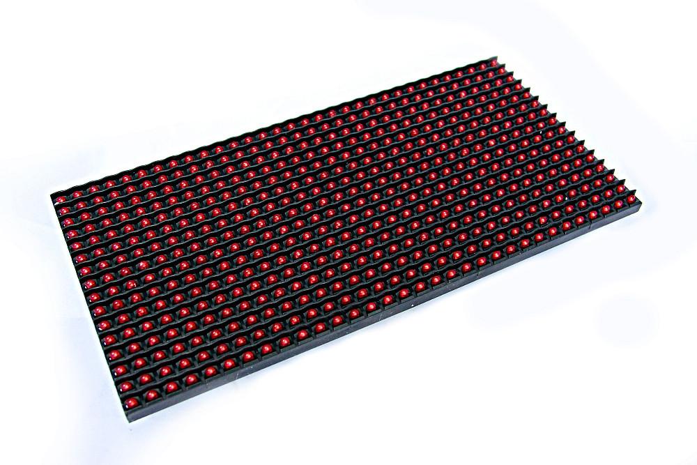 Дисплей светодиодный P10 красный в помещение (indoor)