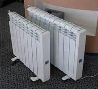 Электрорадиатор настенный (10 секций) отопление 16-18 кв.м. (430 Вт/ч)
