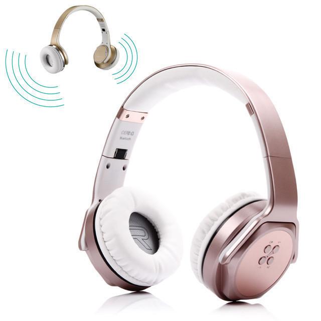Беспроводные Bluetooth наушники MH3 с внешним динамиком